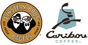 Einstein Bros. Bagels | Caribou Coffee Logo