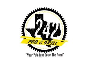 242 Pub & Grill Logo