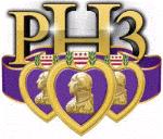 PH3 LLC (Purple Heart 3) Logo