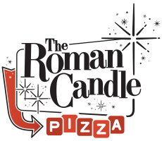 The Roman Candle Pizzeria Logo