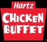 Hartz Chicken Buffet   Logo