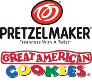 Great American Cookie Co / PretzelMaker Logo