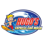 Hugo's Express Car Wash Logo