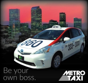 Metro Taxi Logo