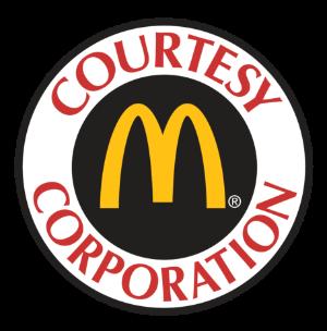 Courtesy Corporation McDonald's Logo