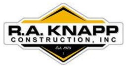 R.A. Knapp Construction, Inc. Logo
