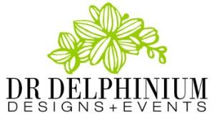 Dr Delphinium Logo