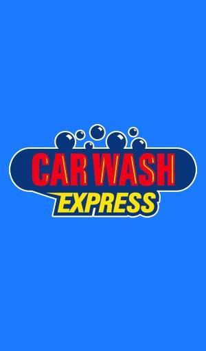 Car wash Express Logo