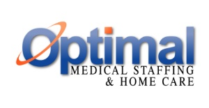 Optimal Medical Staffing & Home Care Logo
