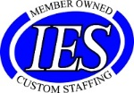 IES Custom Staffing Logo