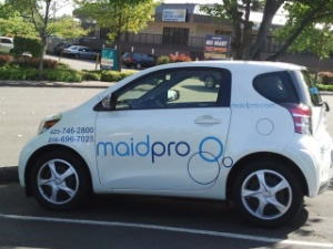 MaidPro Bellevue/Seattle Logo