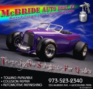 McBride Auto Body Inc. Logo