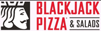 Black Jack Pizza Logo