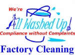 All Washed Up Cleaning Logo