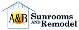A & B Sunrooms and Remodel Logo