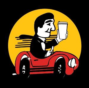 Car Wash Coffee Logo
