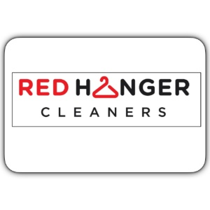 Red Hanger Cleaners Logo