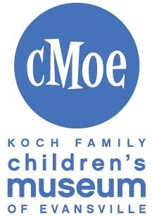 Koch Family Children's Museum of Evansville Logo