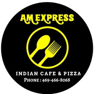 AM Express Indian Cafe & Pizza Logo