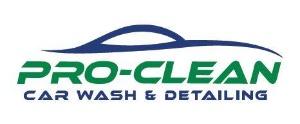 Pro-Clean Car Wash Logo
