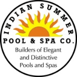 Indian Summer Pool & Spa / Fender Brothers Const. Logo