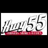 Hwy 55 Burgers Shakes & Fries Logo