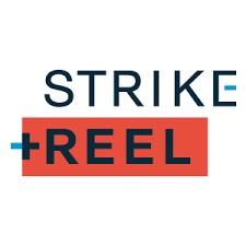 Strike + Reel Logo