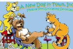 A New Dog in Town, Inc. Logo