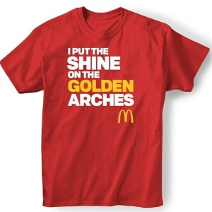 McDonald's Restaurant Franchisee- Committed to Being America's Best First Job Logo