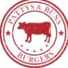 Patty's and Buns Burgers Logo