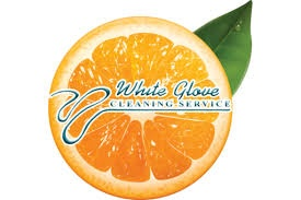 White Glove Cleaning Service Logo