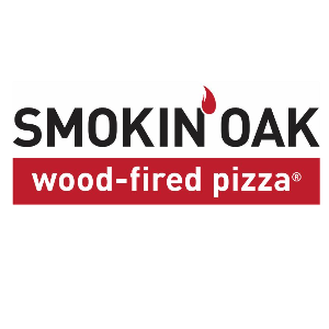 Smokin' Oak Wood-Fired Pizza Logo