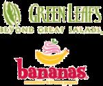 Green Leaf's & Bananas Logo