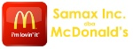 Samax Inc DBA McDonald's Logo